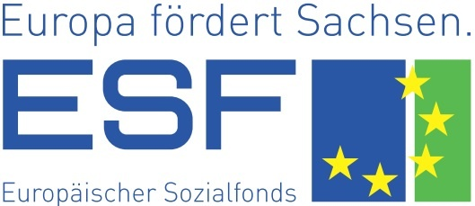 Unterstützt vom europäischen Sozialfond